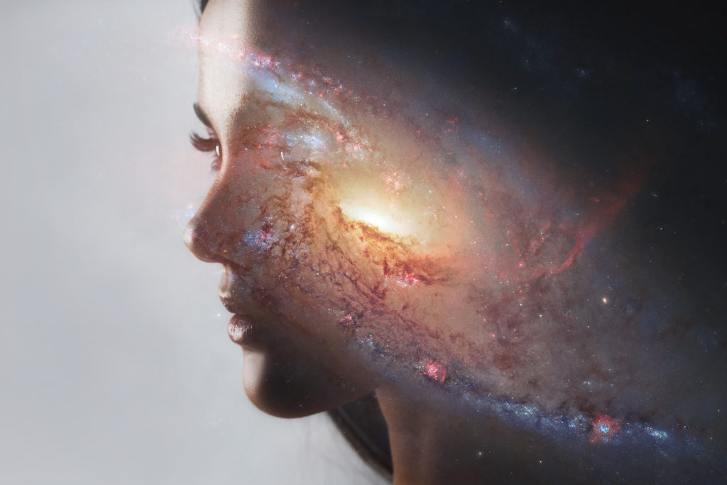 The universe inside us