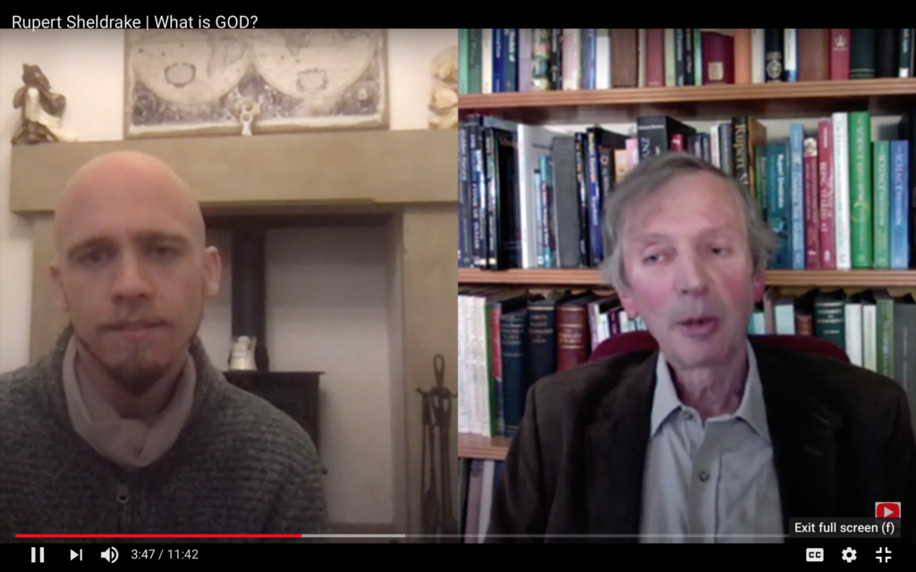 Rupert Sheldrake examines the idea of God