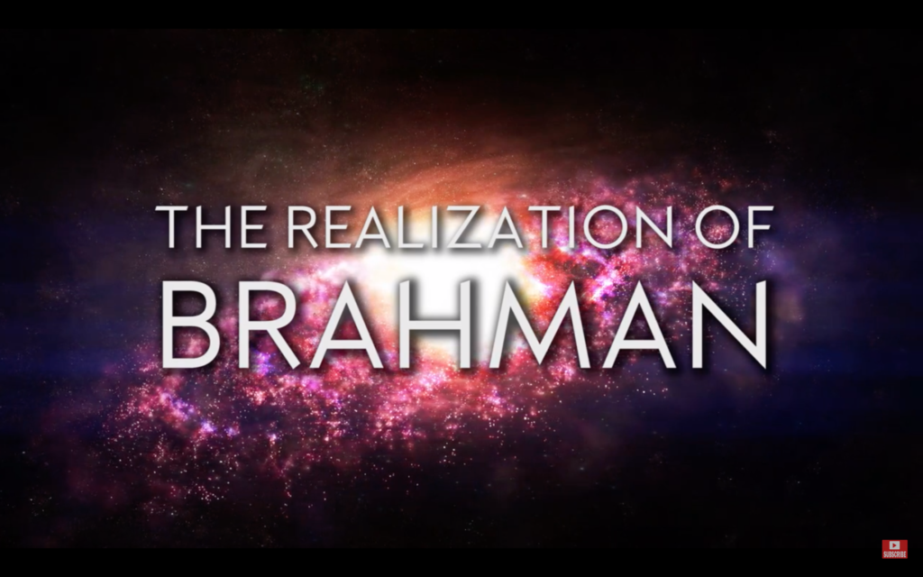Realization of Brahman
