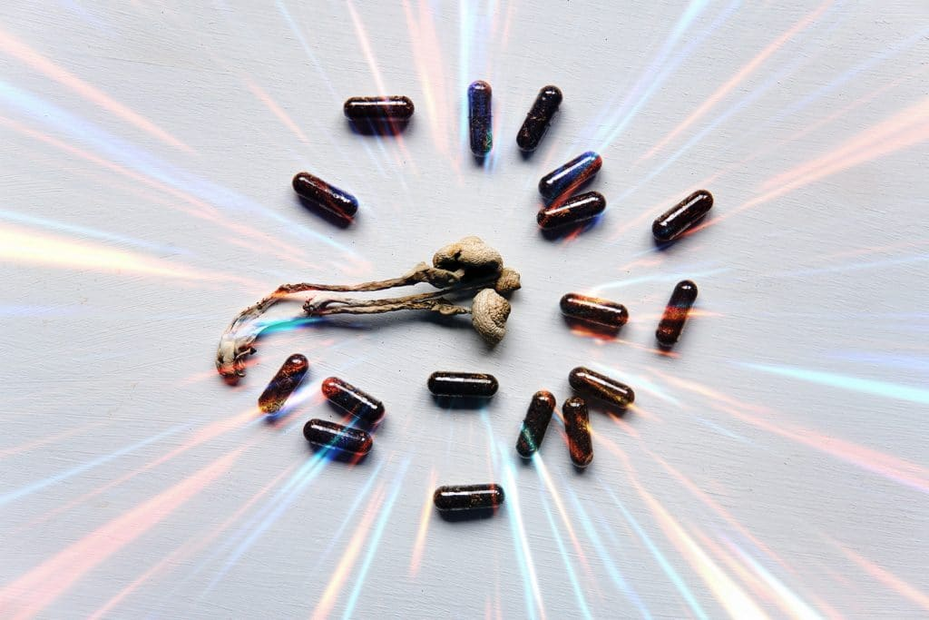 psychedelic pills and mushrooms for microdosing