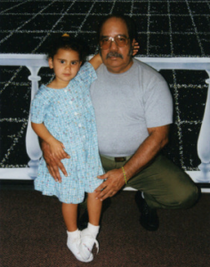 Photo via The Clemency Report. Antonio in younger days with his granddaughter Zoe. She is 19 today.