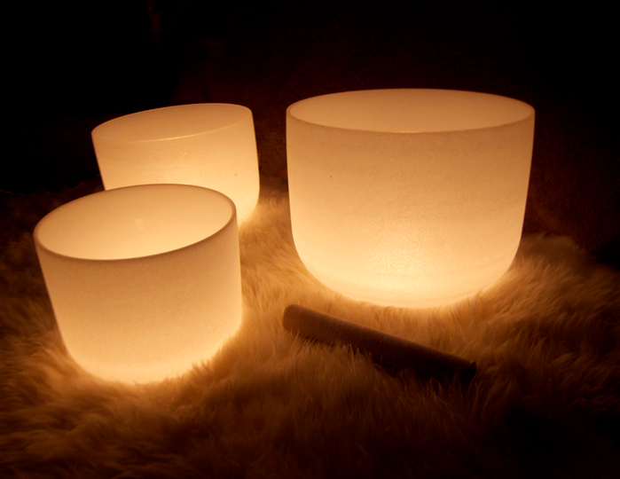 Crystal bowls are rarer than metal bowls and are more powerful for healing because their vibrations are more organic.