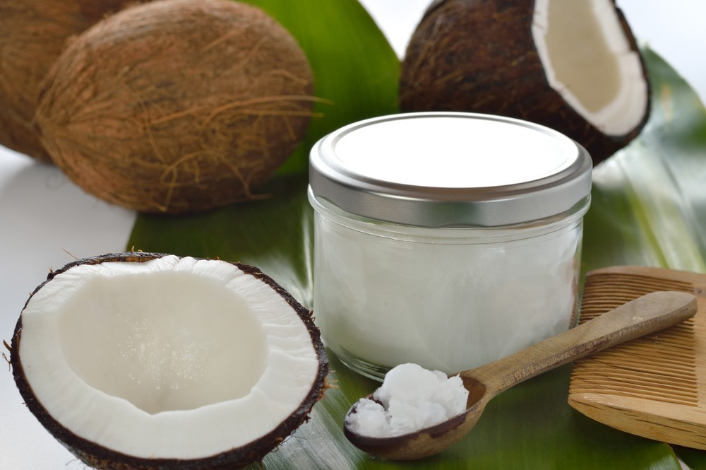 Coconut oil uniquely feeds the brain with medium-chain fatty acids. Via: Geo-grafika | Shuuterstock.