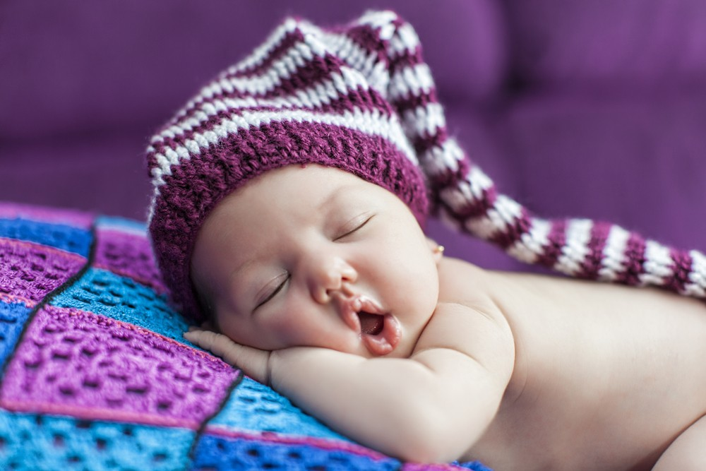 Sleeping like a baby lets your body grown and heal. Via: Tetyana Moshchenko | Shutterstock