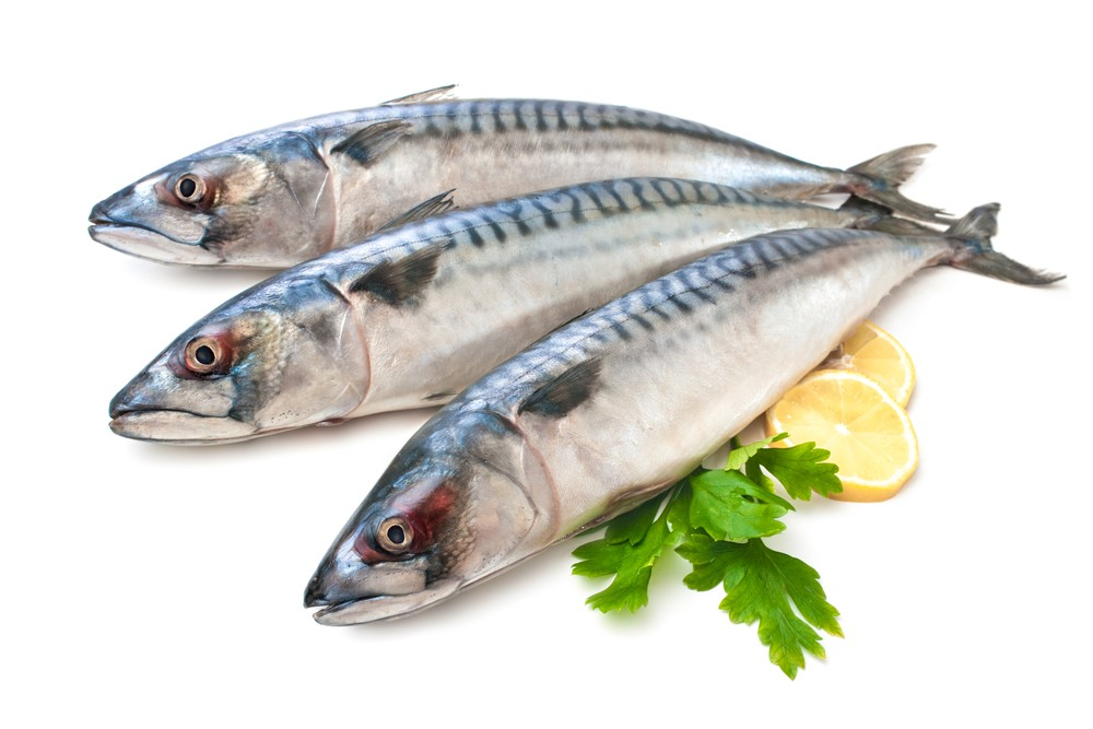 The healthiest fish are those that are high in omega-3s like mackerel. Via: Alexander Raths | Shutterstock.