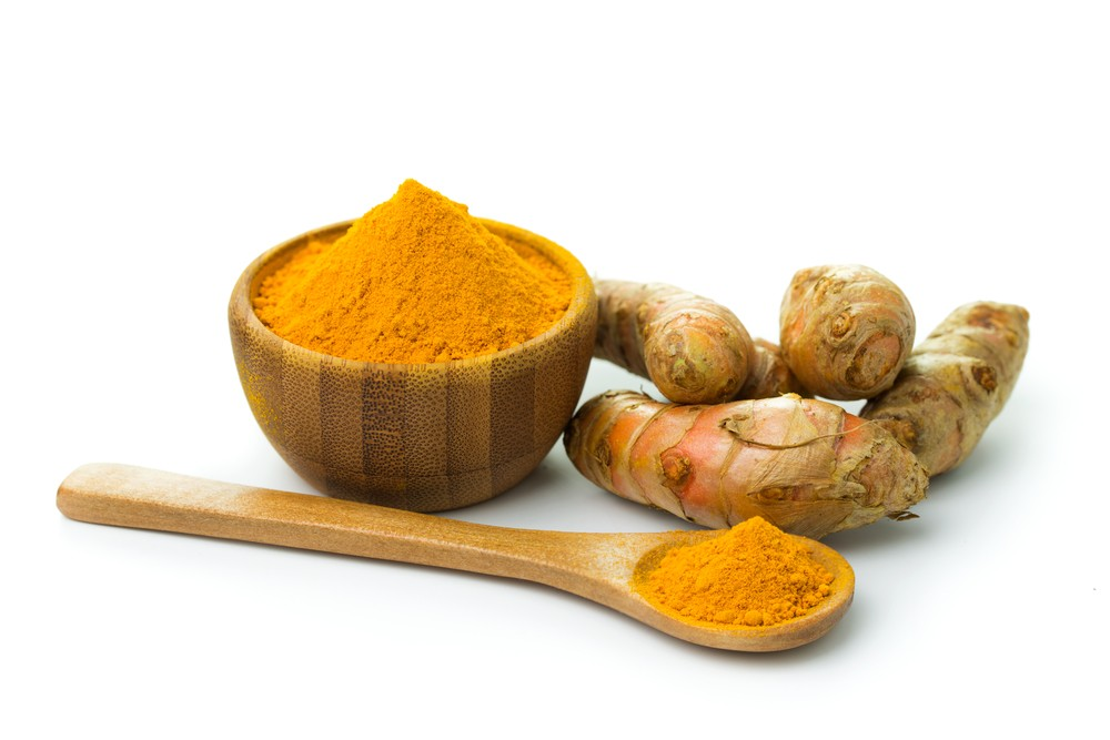 Turmeric reduces brain inflammation and breaks up plaques associated with Alzheimer's disease. Kenishirotie | Shutterstock.