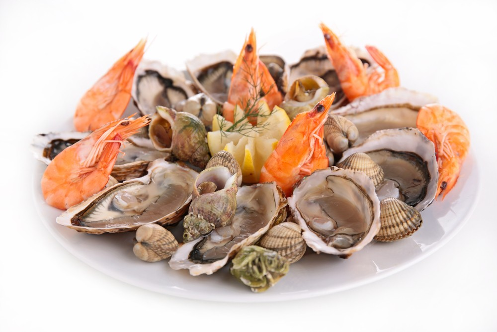 Shellfish such as clams, oysters and mussels are high in vitamin B12. Via: margouillat photo | Shutterstock.