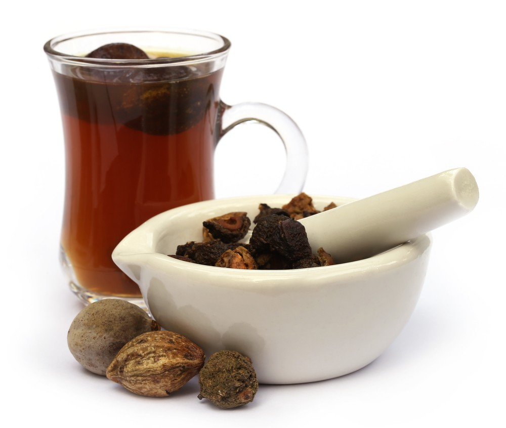 Photo: Triphala tea, made from a combination of Ayurvedic fruits, including amla. Via: Swapan Photography | Shutterstock