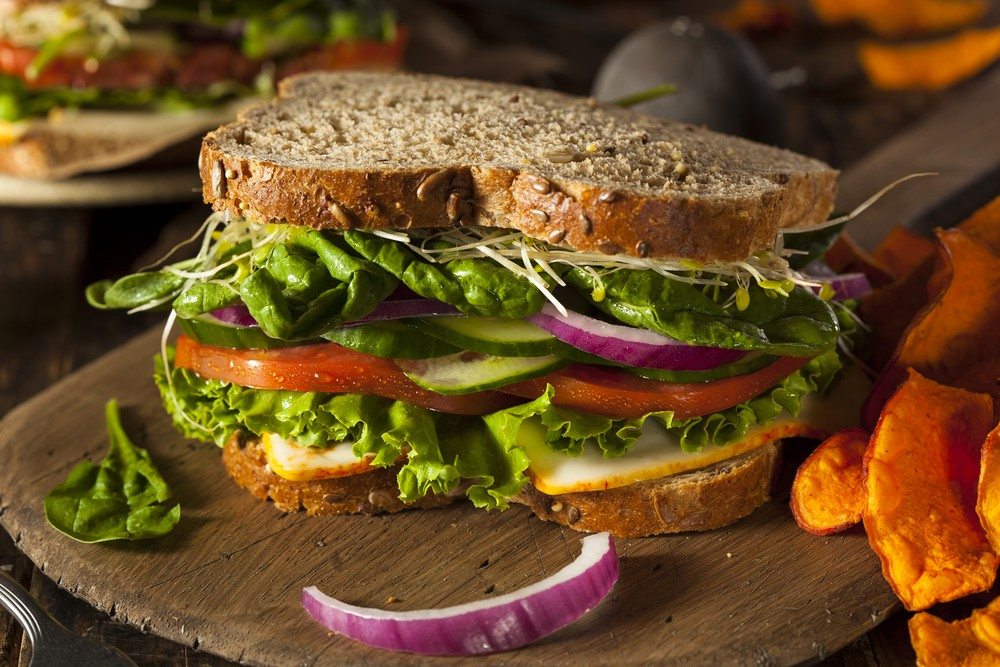 Broccoli sprouts can easily be incorporated into a smoothie, salad, or sandwich. Via: Brent Hofacker | Shutterstock.