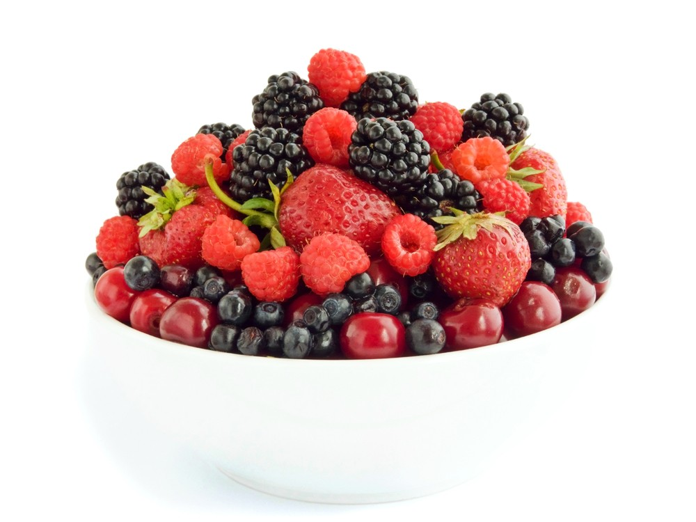 Eat berry well to aid concentration. Via: AGfoto | Shutterstock.