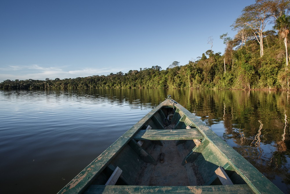 The Amazon River. Via: Christian Vinces | Shutterstock.