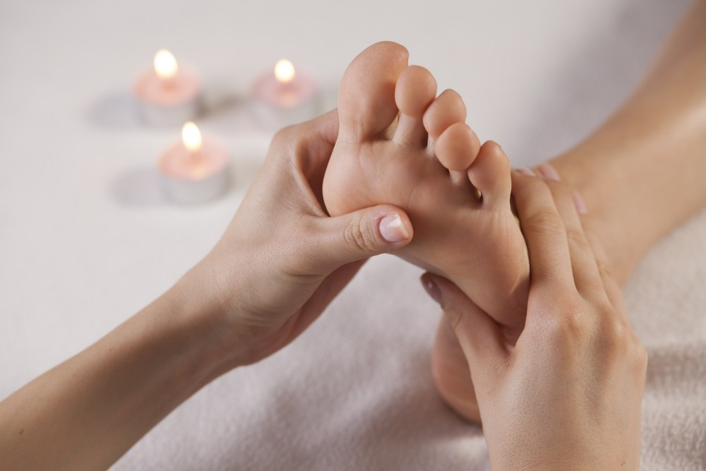 You can always exchange foot massages with a friend or significant other! Via: Petar Djordjevic | Shutterstock.