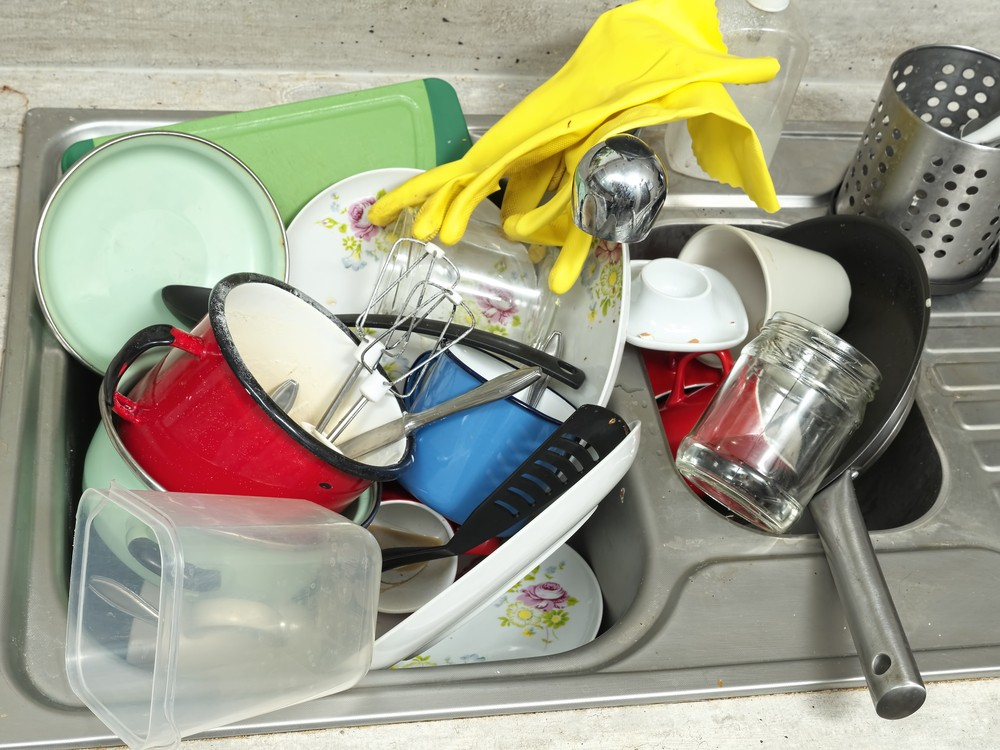 Cluttered and messy homes are a major source of stress. Image via: pryzmat   Shutterstock.